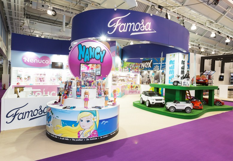 Famosa at UK Toy Fair