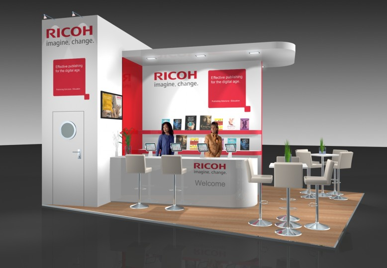 Ricoh at the Book Fair