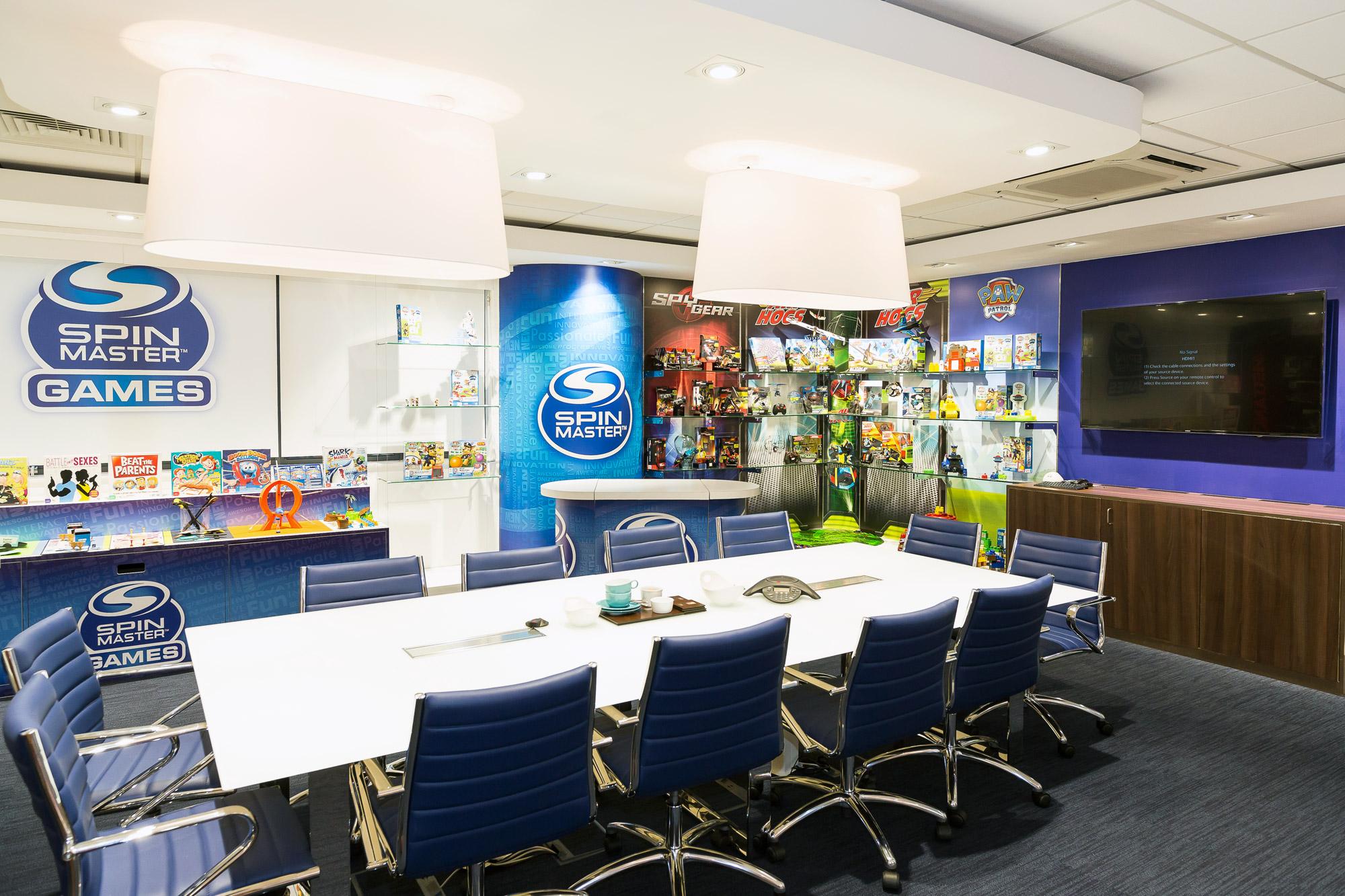 Spin Master UK Showroom Design